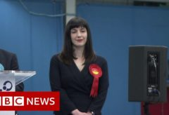 First results: Labour hold Sunderland constituency  – BBC News