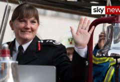 London's first female fire chief Dany Cotton retires