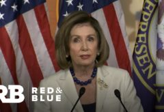 """The president gave us no choice"":  Nancy Pelosi tells Congress to proceed with articles of impea…"