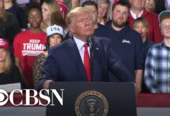 Trump mocks Rep. Debbie Dingell and her late husband John Dingell at rally