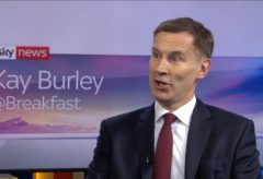 Jeremy Hunt: Trump's inconsistent foreign policy is 'dangerous' for the Middle East
