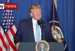 Trump: 'This was done to stop a war, not start a war'