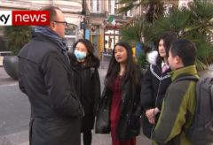 Chinese people in the UK abused over outbreak