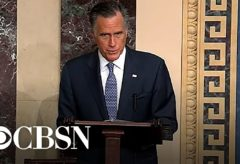 Mitt Romney catches backlash for impeachment vote
