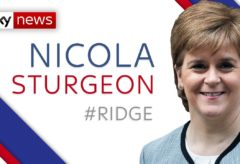 "Sturgeon: We are ""all working as hard as we can"" to tackle COVID-19"