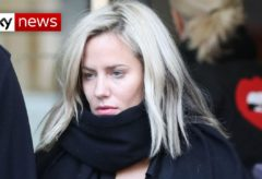 Caroline Flack's management criticises 'show trial'