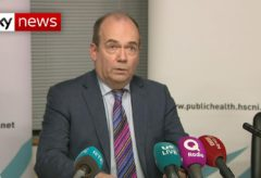 Northern Ireland confirms first case of coronavirus