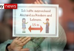Coronavirus: Germany reopens schools and shops
