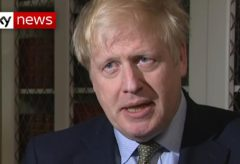 PM reacts to UK's first coronavirus-related death