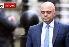 Sajid Javid's shock resignation as chancellor