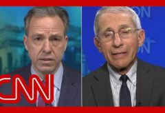 Tapper asks Fauci: Do you think lives could have been saved?