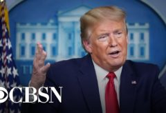 Trump says he intends to suspend all immigration