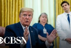 Trump says White House Coronavirus Task Force will focus on safety and reopening