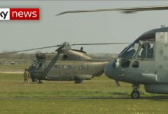 UK Army helicopters to help NHS airlift coronavirus patients