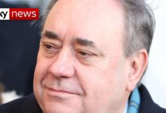 Woman 'humiliated' after Alex Salmond 'lay on her naked'