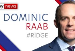 Coronavirus: Dominic Raab insists 'we can't just stay in lockdown forever'