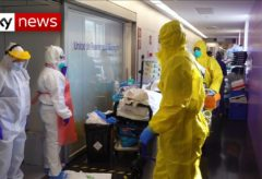 Coronavirus: Inside an intensive care unit in Barcelona's Hospital Del Mar
