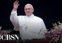 Pope Francis celebrates Easter Sunday Mass – watch live