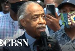 Rev. Al Sharpton speaks about George Floyd's death
