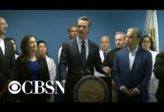 California Governor Gavin Newsom gives update on coronavirus outbreak