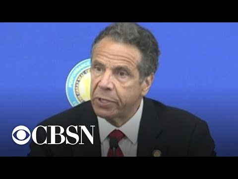 "New York Governor Andrew Cuomo says expect ""pain"" in new economy"