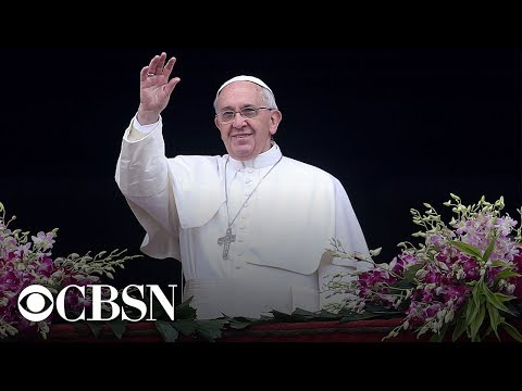 Pope Francis celebrates Easter Sunday Mass - watch live