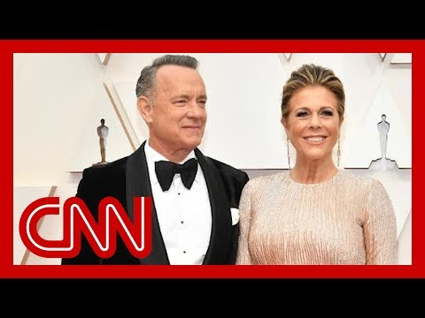 Tom Hanks and Rita Wilson test positive for coronavirus